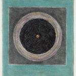 Serie Geometría Íntima 2004 Grafito y lápiz de color s/papel 30,1 x 22,1 cm.