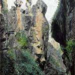Los Cahorros - 2016 - Óleo sobre lienzo - 100 x 80 cm.