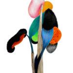 Sin título 2016 Grafito y lápiz de color s/papel 42 x 29,7