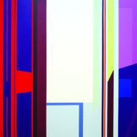 Puerta garanza 2017 Acrílico sobre lienzo 81 x 116 cm.