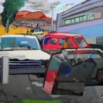 Belo horizonte - 2016 - Mixta sobre lienzo - 90 x 110 cm.