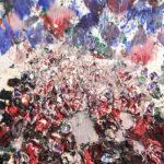 RED IV 2016 Mixta sobre lienzo 140 x 117