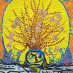 Renacer 1970/1972 Óleo sobre táblex 50 x 61 cm.