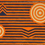 Sin Título 1972 Ácrilico sobre táblex 44 x 31 cm.